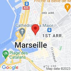 Carte / Plan Église des Grands-Carmes de Marseille