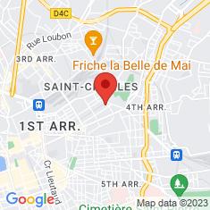 Carte / Plan Musée Grobet-Labadié