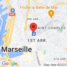Carte / Plan Gare de Marseille-Saint-Charles