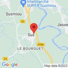 Carte / Plan Sus (Pyrénées-Atlantiques)