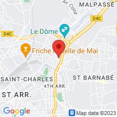 Carte / Plan Église des Chartreux de Marseille