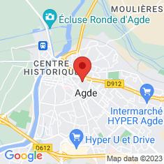 Carte / Plan Agde