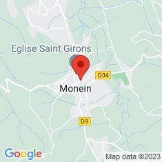 Carte / Plan Monein