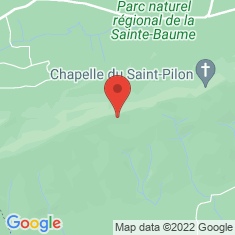 Carte / Plan Massif de la Sainte-Baume