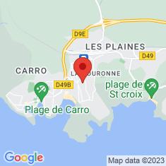 Carte / Plan La Couronne (Bouches-du-Rhône)