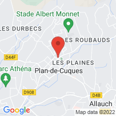 Carte / Plan Plan-de-Cuques