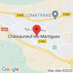 Carte / Plan Châteauneuf-les-Martigues