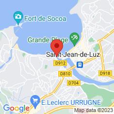 Carte / Plan Port de Saint-Jean-de-Luz