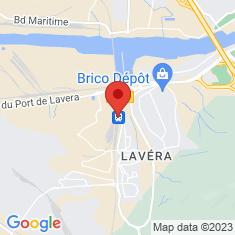 Carte / Plan Gare de Martigues