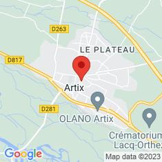 Carte / Plan Artix (Pyrénées-Atlantiques)