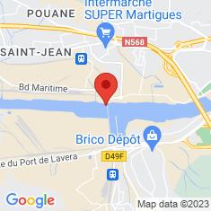 Carte / Plan Pont de Caronte