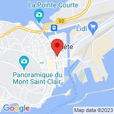 Carte / Plan Sète