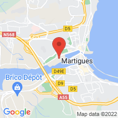 Carte / Plan Martigues