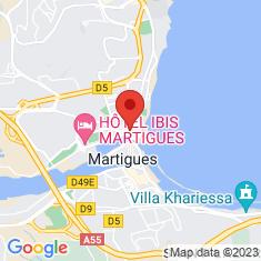 Carte / Plan Église Saint-Louis-d'Anjou de Martigues
