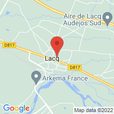 Carte / Plan Lacq