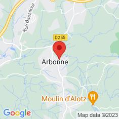 Carte / Plan Arbonne