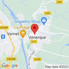 Carte / Plan Venerque