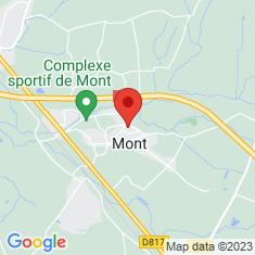 Carte / Plan Mont (Pyrénées-Atlantiques)