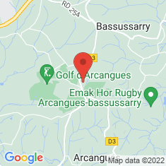 Carte / Plan Arcangues