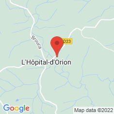 Carte / Plan L'Hôpital-d'Orion