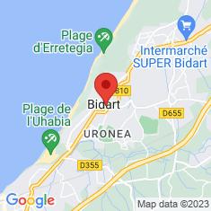Carte / Plan Église Notre-Dame-de-l'Assomption de Bidart