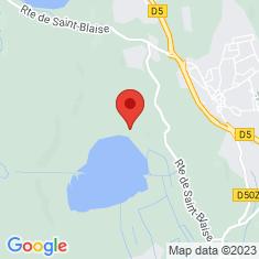 Carte / Plan Étang du Pourra