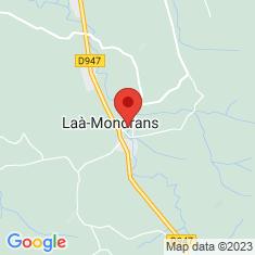 Carte / Plan Laà-Mondrans