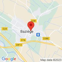 Carte / Plan Baziège