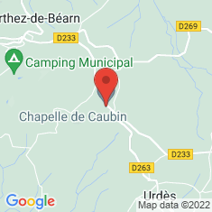 Carte / Plan Commanderie de Caubin