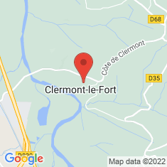 Carte / Plan Clermont-le-Fort