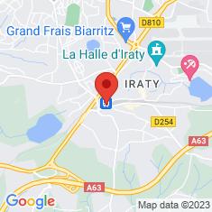 Carte / Plan Gare de Biarritz