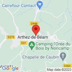 Carte / Plan Arthez-de-Béarn