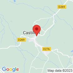 Carte / Plan Castillon (Canton d'Arthez-de-Béarn)