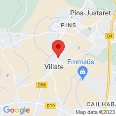 Carte / Plan Villate