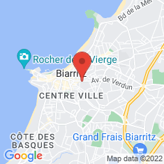 Carte / Plan Biarritz