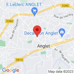 Carte / Plan Anglet