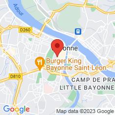 Carte / Plan Cathédrale Sainte-Marie de Bayonne