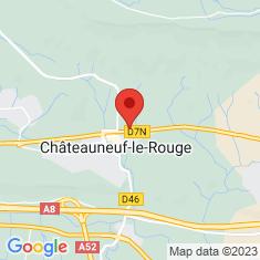 Carte / Plan Châteauneuf-le-Rouge
