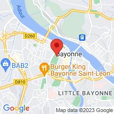 Carte / Plan Jardin botanique de Bayonne