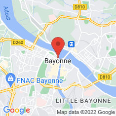 Carte / Plan Bayonne