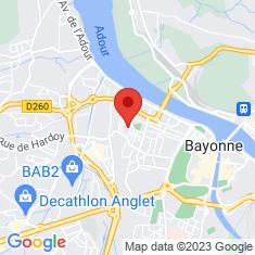 Carte / Plan Arènes de Bayonne