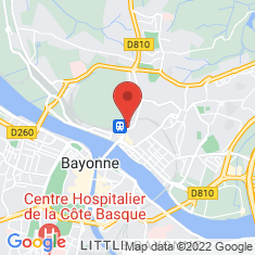 Carte / Plan Synagogue de Bayonne