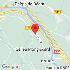 Carte / Plan Salles-Mongiscard
