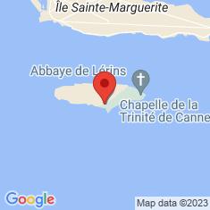 Carte / Plan Abbaye de Lérins