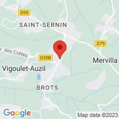 Carte / Plan Vigoulet-Auzil