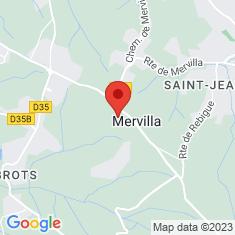 Carte / Plan Mervilla