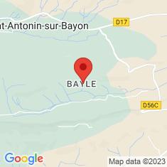 Carte / Plan Commanderie de Bayle