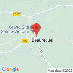 Carte / Plan Beaurecueil
