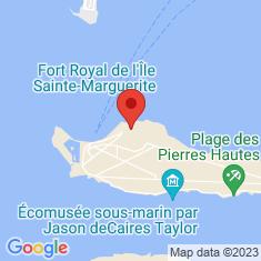 Carte / Plan Musée de la Mer de Cannes
