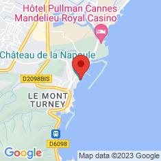 Carte / Plan Château de la Napoule